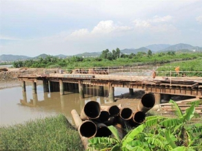 钢面桥施工